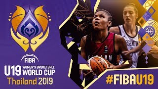Argentina v Belgium - Full Game - FIBA U19 Women's Basketball World Cup 2019