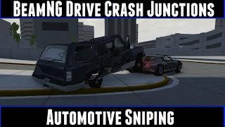 BeamNG Drive Crash Junctions Automotive Sniping