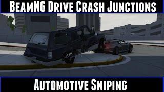 BeamNG Drive Crash Junctions Automotive Sniping