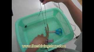 how to make glitter disco ball beads shamballa shambala macrame bracelets in 15 minutes DIY guide
