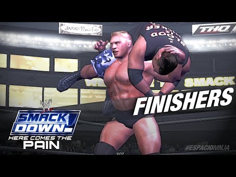 WWE Here Comes The Pain! Finishers (PS2) HD