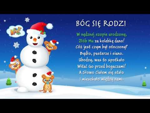 Bóg Się Rodzi - Polskie Kolędy - Karaoke