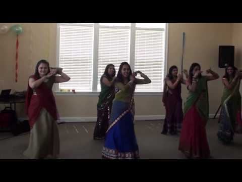 Radha Teri Chunari Dance At Jigna And Hely's Supri video