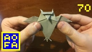 How To Make An Origami Owl (kirigami) ...for All (70)