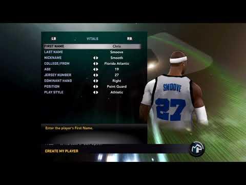nba 2k13 how to change player signature skills