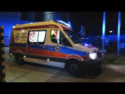 Dojazdy Straży, Pogotowia I SAR Do Zatrucia Siarkowodorem Na Kutrze + Wypadek Karetki (22.07.2016)