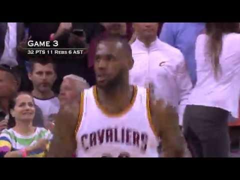 LeBron James NBA Finals Full Series Highlights