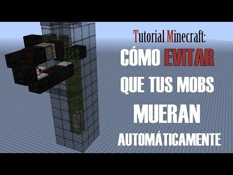 Tutorial Minecraft. Cómo evitar que tus mobs mueran automáticamente (MaxEntityCramming)
