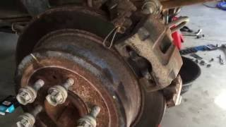 Ford Rear Axle Seal Leak Repair Supplement