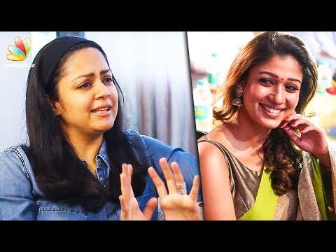 Jyothika Admires Nayanthara's Effort | Imaikkaa Nodigal, kaatrin mozhi | Latest Tamil Cinema News