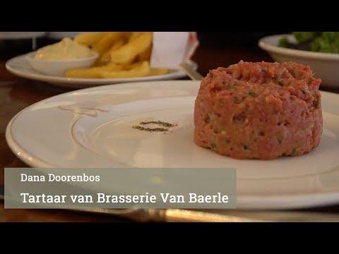 De tartaar van Brasserie Van Baerle