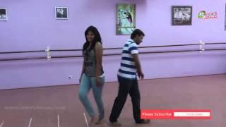 Actress Anjali Dance Practice moments www.2daycinema.com