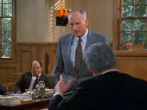 "George Steinbrenner is testifying in the Good Samaritan case against the ""New York Four."" While he's in the middle of his speech, Frank Costanza has another ..."