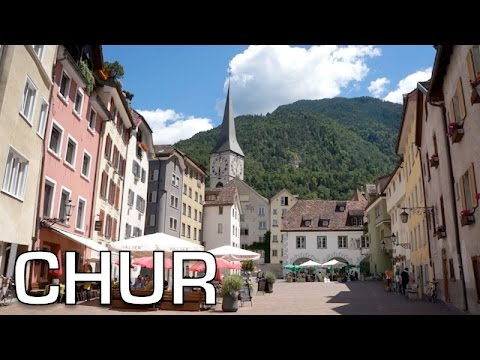 Chur: the OLDEST city in SWITZERLAND | Travel Vlog