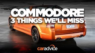 The V8 Ute: 3 things we'll miss about the Holden Commodore