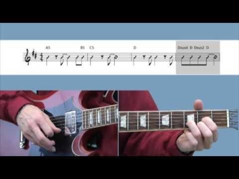 Apprendre à jouer Sweet Child O' Mine à la guitare - Cours de musique