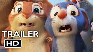 The Nut Job 2: Nutty by Nature Official Trailer #1 (2017) Will Arnett Animated Movie HD