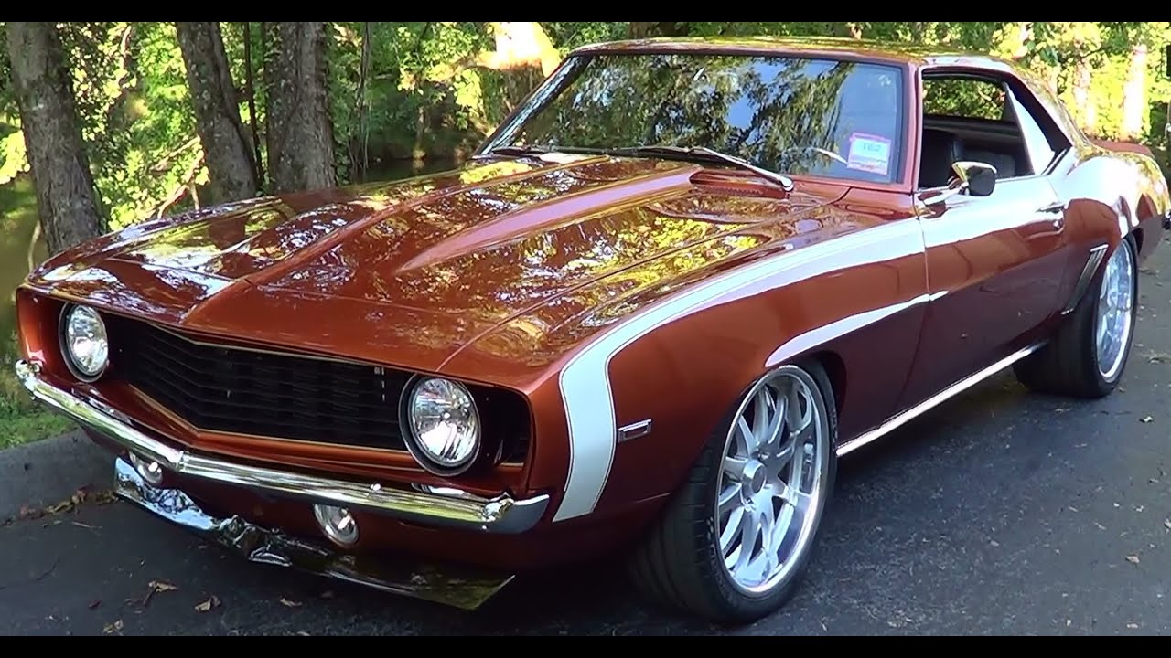 Pro Touring Camaro >> 1969 Camaro Pro Touring - YouTube