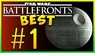 Star Wars Battlefront's Best Death Star Maps! (Episode 1)