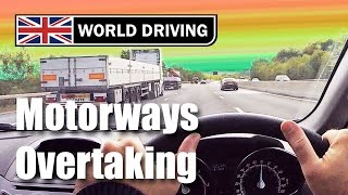 Overtaking on a motorway driving lesson - Motorway tips