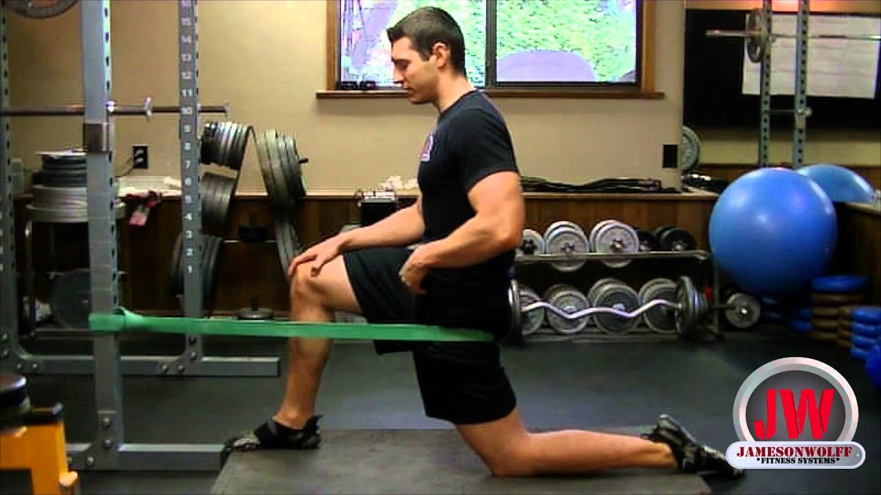 Banded Hip Extension - YouTube