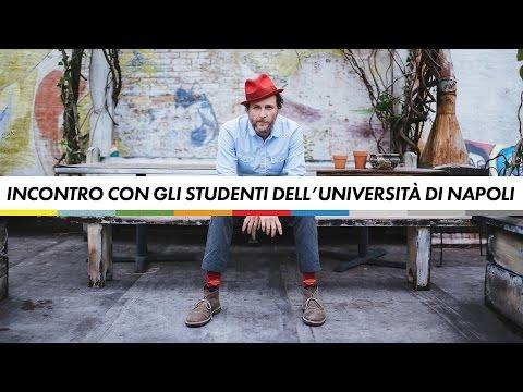 Incontro con gli studenti dell'Università di Napoli