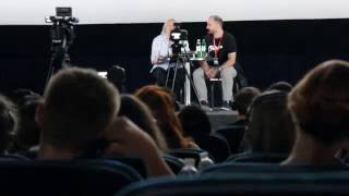 Christopher Hampton on 7th Odessa International Film Festival