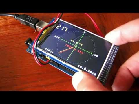 HMC5843 Magnetometer Library for Arduino eclecticc