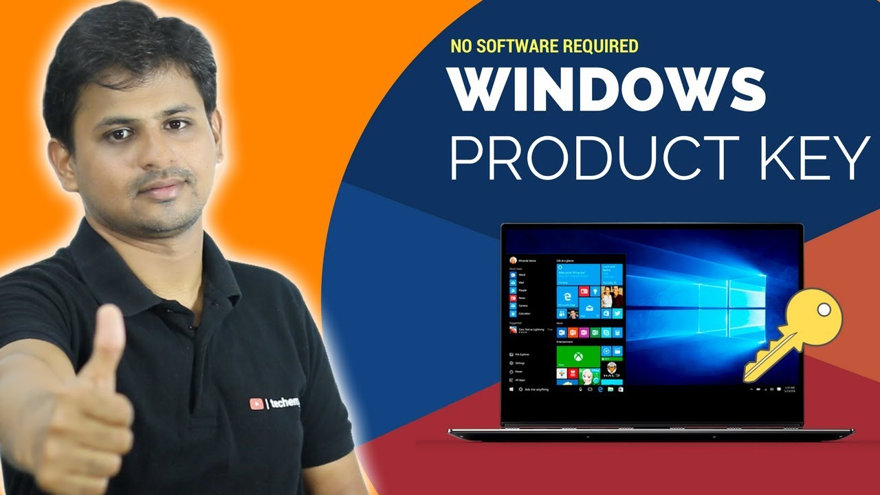 How to get windows 8 8 1 product key without software for Window 8 1 product key