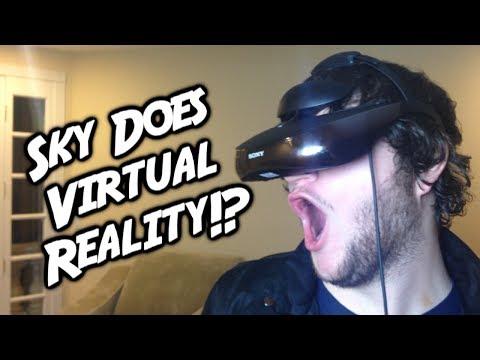 SKY DOES VIRTUAL REALITY!?