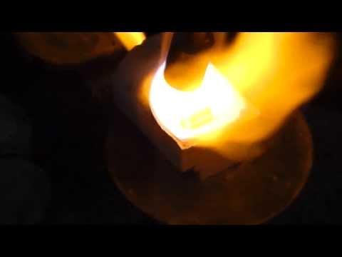 ¿Cómo fundir anillos con cofias para metales de níquel-cromo?