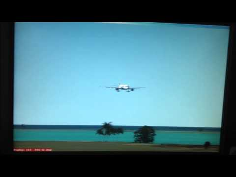 FSX Indigo Airlines landing at Colombo,Sri Lanka (Tower Vie