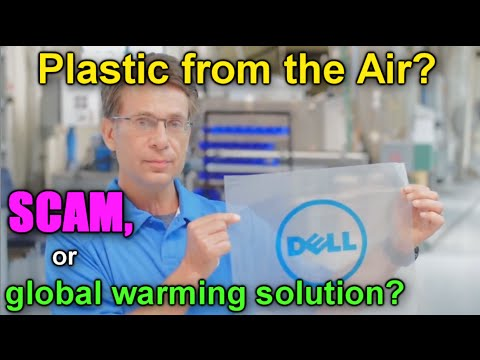 Plastic from the Air, Global Warming Solution or SCAM?