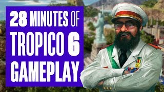 28 minutes of Tropico 6 Gameplay - How does it compare to Tropico 5?
