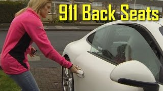 Back Seat Test - Porsche 911 991 Adult & Child