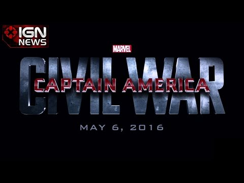 Captain America: Civil War Coming in 2016 - IGN News