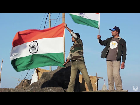 Flag Hoisting on Girnar, Junagadh