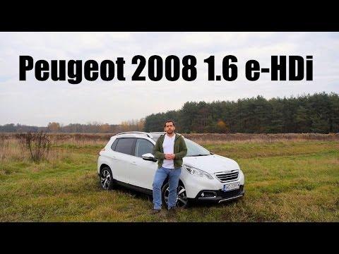 (PL) Peugeot 2008 Allure 1.6 e-HDi - test i jazda próbna