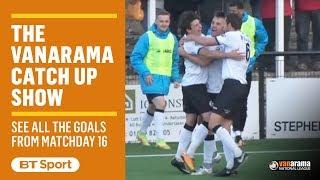 Vanarama National League Highlights Show | Matchday 16