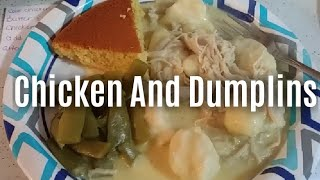How To Make THE BEST Chicken And Dumplings