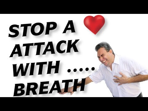How to Stop Heart Attack, Prevent Heart Disease (Treatment: Easy Breathing Exercise)