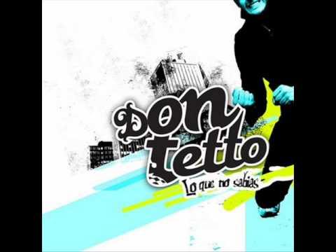 Don Tetto - No Esta Acostumbrado