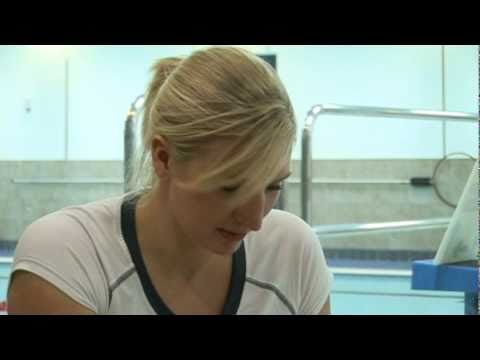 Rebecca Adlington What's in my Kitbag