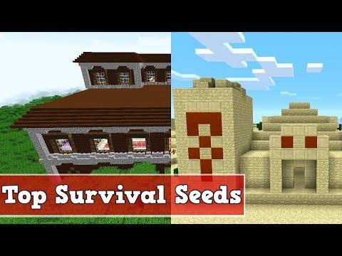 Die 5 besten Survival Seeds in Minecraft 1.13 | Minecraft Top 5 Survival Seeds 1.13