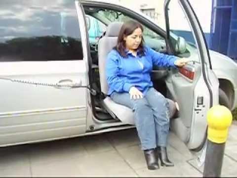 Asiento de acceso a camionetas para adultos mayores o for Sillas para discapacitados
