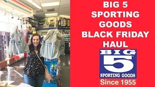 Big 5 Sporting Goods Black Friday Haul