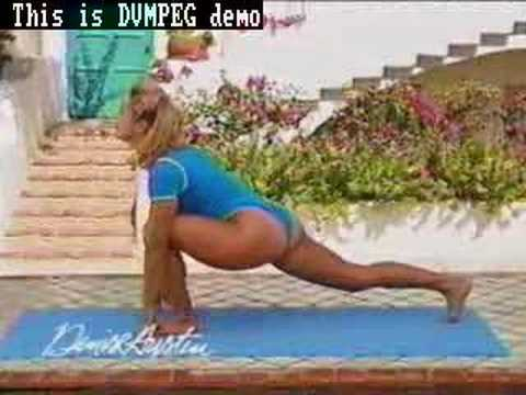denise austin / somewhat ass shot