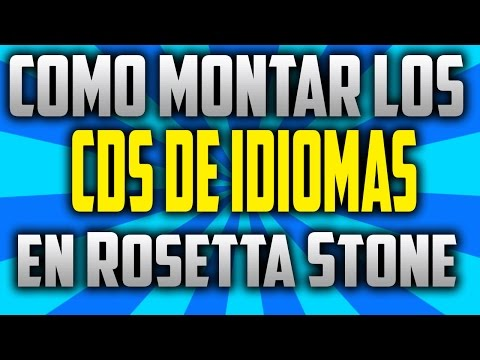 (100% EXPLICADO) Como Los Montar CDs de Idioma en Rosetta Stone