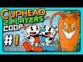 Cuphead 2 PLAYERS CO OP Прохождение 1 МУЧАЕМСЯ ВДВОЕМ mp3