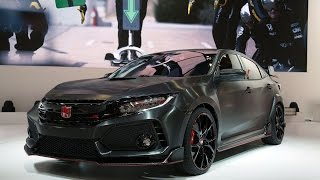 2018 Honda Civic Type R Prototype First Look - 2016 Paris Motor Show